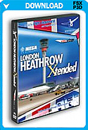 Mega Airport London Heathrow Xtended (FSX+P3Dv2)