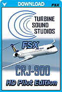 CRJ-900 CF34 HD Soundpack for FSX