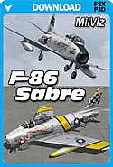 MilViz F-86F-30 Sabre TacPack Edition
