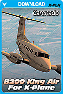Carenado B200 King Air HD Series for X-Plane