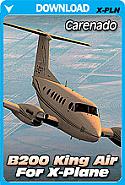 Carenado B200 King Air HD Series for X-Plane