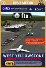 FTX West Yellowstone Airport (KWYS)