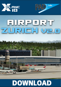 Airport Zurich v2 For X-Plane